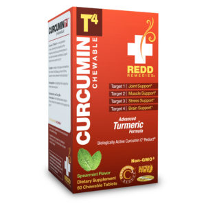 Curcumin Chewable Advanced Turmeric Joint Support, Muscle Support, Stress Support, Brain Support